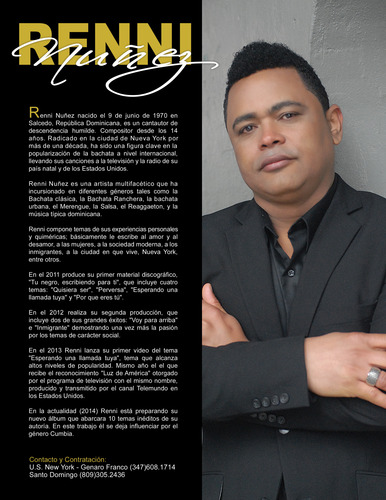 Artist Profile - Renni Nunez - Pictures